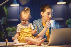 Работающая мама: лайфхаки как все успевать